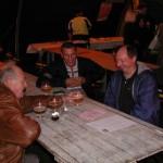 André, Claude et Jean Pierre au réconfort liquide à boire modérément