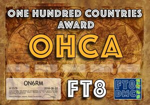 ON6RM-OHCA-100