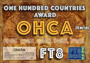 ON6RM-OHCA20-100